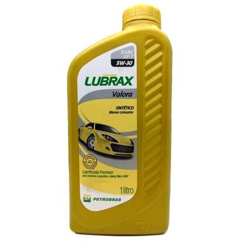 Óleo de Motor 5w30 Lubrax Sintético (gasolina)5l - Lt mit