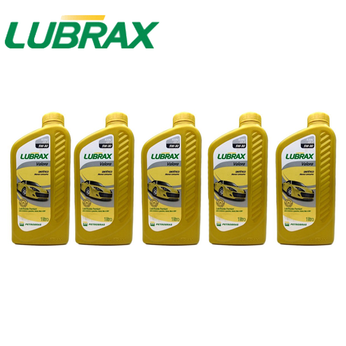 Óleo de Motor 5w30 Lubrax Sintético (gasolina)5l - Sku: 848_